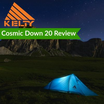 sleeping bag review on the kelty cosmic 20