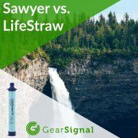 sawyer mini squeeze and lifestraw