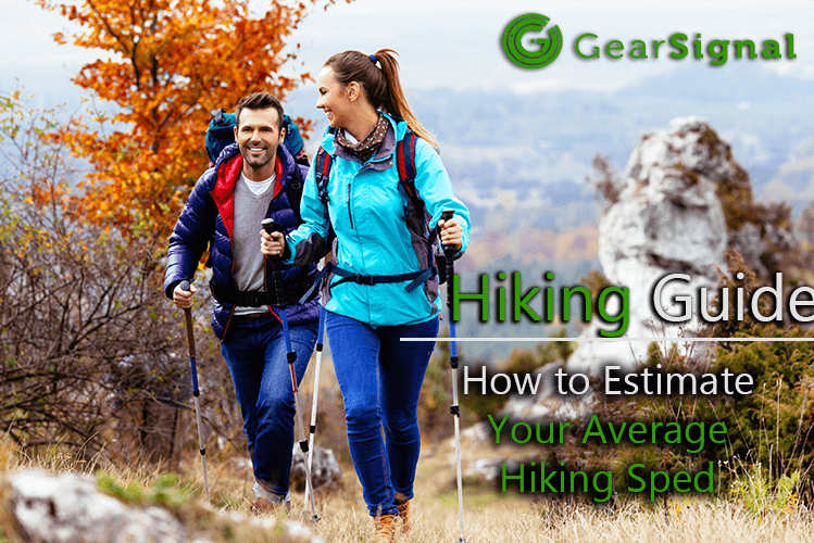 average hiking speed calculations and charts
