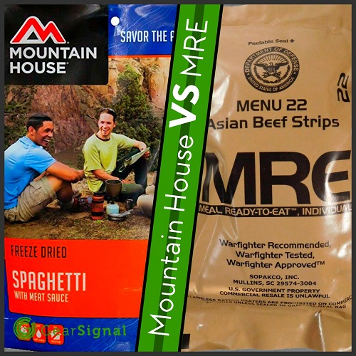 best mre for backpacking mountain house dehydrated meals are better