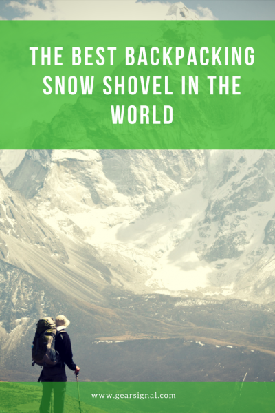 comparison of 3 snow shovels for backpacking