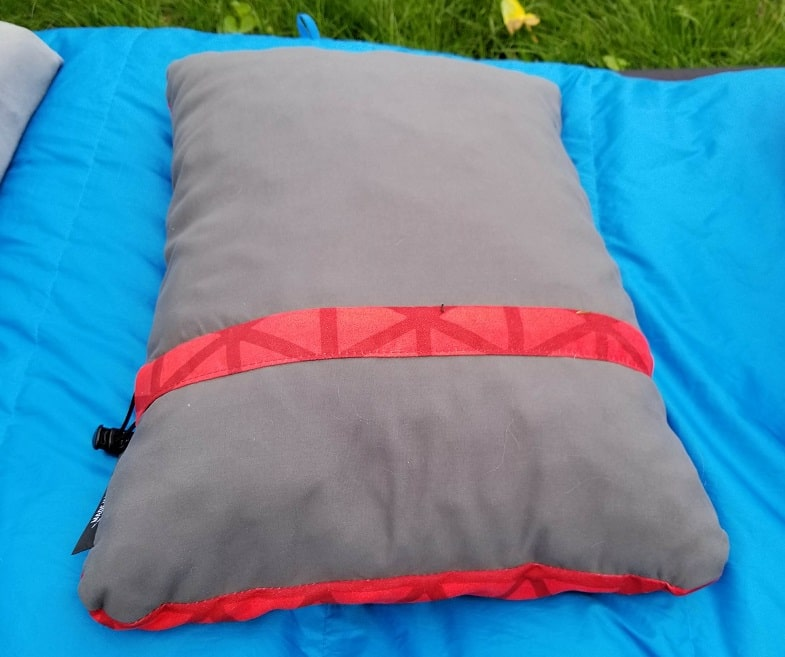 thermarest backpacking pillow side view
