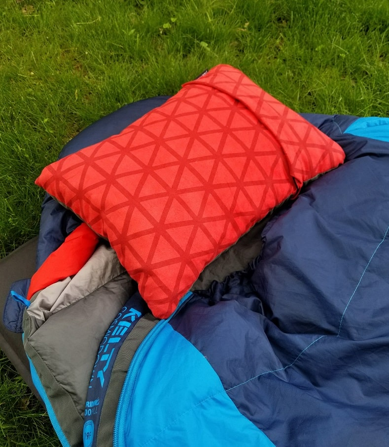 thermarest backpacking pillow and our number one choice for best backpacking pillow