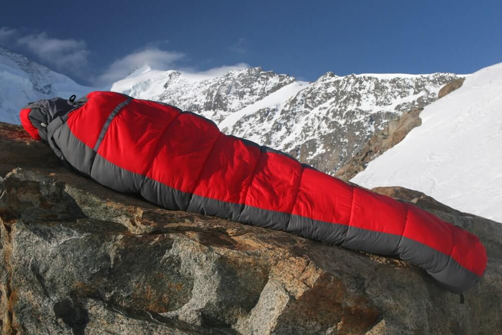 Backpacking Sleeping Bags for Big Guys